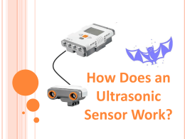 How Does an Ultrasonic Sensor Work?