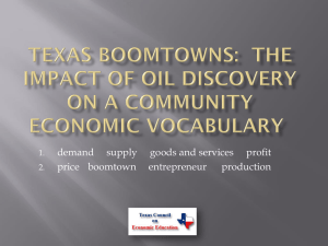 Spindletop to Fracking - Texas Council on Economic Education