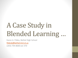 Blended learning *