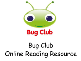Bug-Club - Middleton Parish CE Primary School