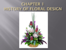 Ch 1 Histroy PP pp_-_ch_1_history_of_flowers_-_floral