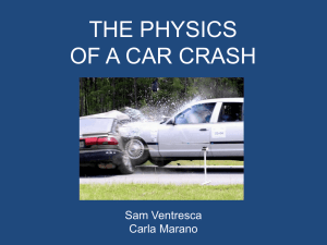 Cars and Physics