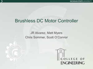 MSU Solar Car Team * Electrical Team Steering Wheel