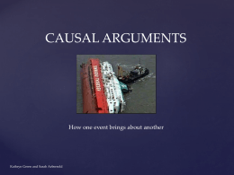Green - Abersold- Intro to Causal Argument