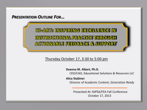 Inspiring Excellence with Feedback Session Outline FINAL