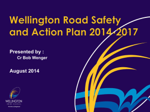 Wellington Road Safety and Action Plan 2014