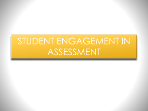 STUDENT ENGAGEMENT SELF ASSESSMENT DAY 2
