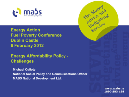 Michael Culloty - Energy Action Ireland