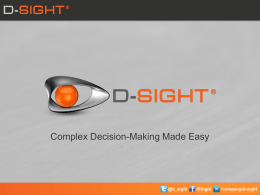 D-Sight CDM overview