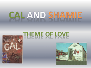 CAL and shamie Theme of love