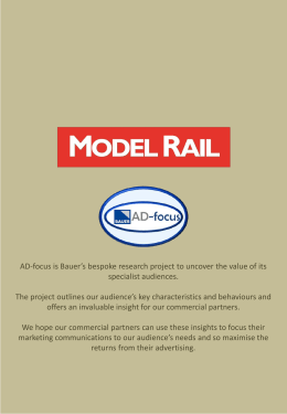 AD-focus - Model Rail