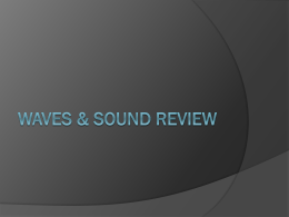 Waves & Sound Review