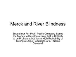 Merck - BYU Ethics