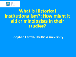 What is HI? - University of Sheffield