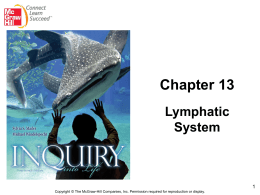 Lymphatic & Immune Systems