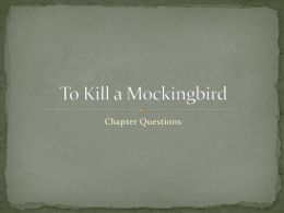 To Kill a Mockingbird - Greer Middle College || Building the Future