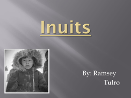 Inuits - sunflower5thgrade