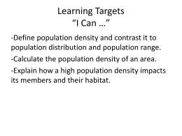 Learning Targets *I Can ** - Milton