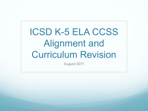 AugustCurriculumWorkOverview - ICSDK-5Literacy