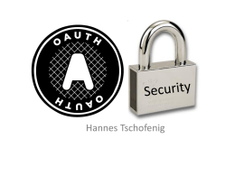 OAuth Security (Beijing IETF, Nov. 2010)