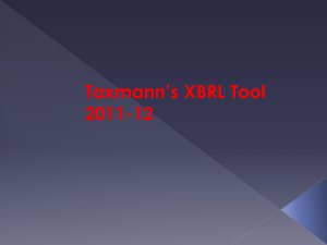 Features of Taxmann`s XBRL Tool