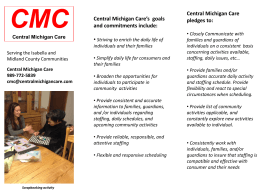 File Now - CMC / Central Michigan Care