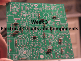 Circuits and Components