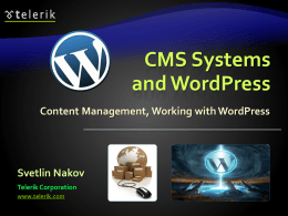 CMS-Systems-and-WordPress - seocourse