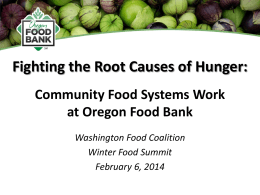 community food systems work