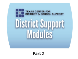 Texas Accountability Intervention System Powerpoint
