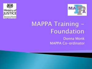 Mappa Awareness Training