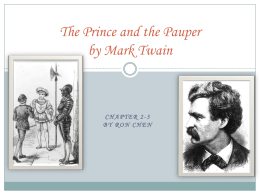 The Prince and the Pauper (Ron Chen)
