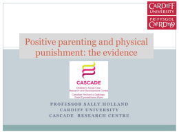 Positive parenting and physical punishment