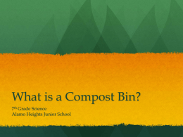 What is a Compost Bin