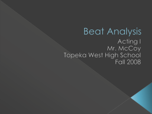 Beat Analysis