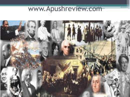 www.Apushreview.com - Kenston Local Schools