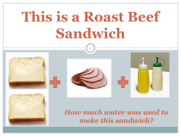 Roast Beef Sandwich Cards