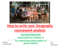How+to+write+your+Geography+coursework+analysis