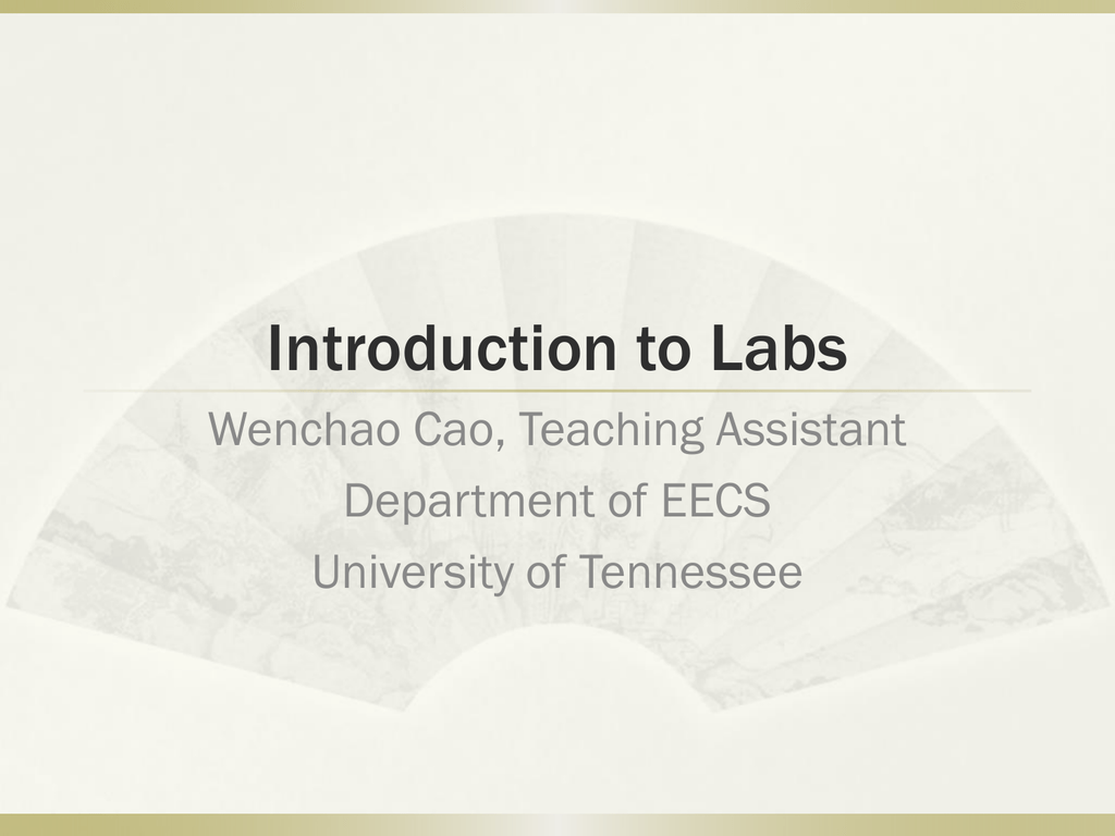 Lab introduction & ISE WebPACK tutorial