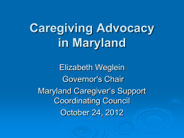 What is a Caregiver Registry? - National Alliance for Caregiving