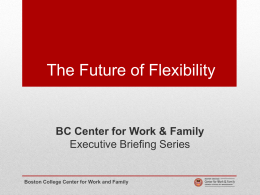 The Future of Flexibility Executive Briefing