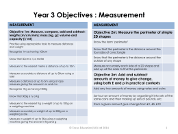 year-3-objectives-measurement