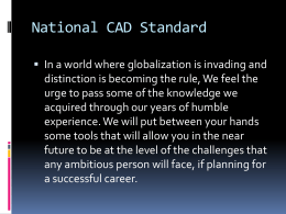 National CAD Standard