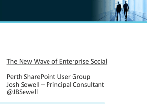 Perth SPUG - SharePoint User Groups