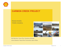 Shell - Carmon Creek Project