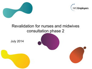 Revalidation slide pack