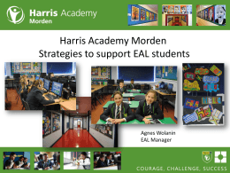 Strategies for Supporting EAL learners