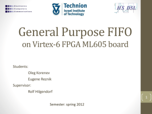 General Purpose FIFO.