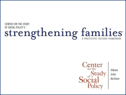 Strengthening Families Protective Factors Slides