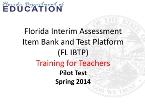IBTP Teacher Training PowerPoint Version